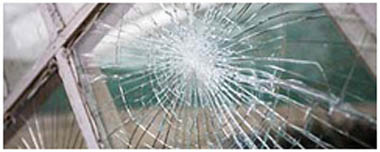 Mansfield Smashed Glass